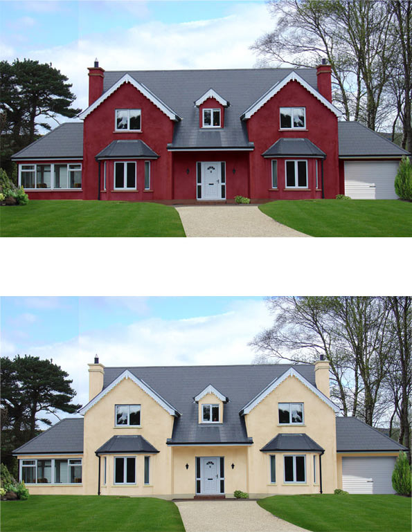 Bellevue interiors enniskillen for Digitally paint your house